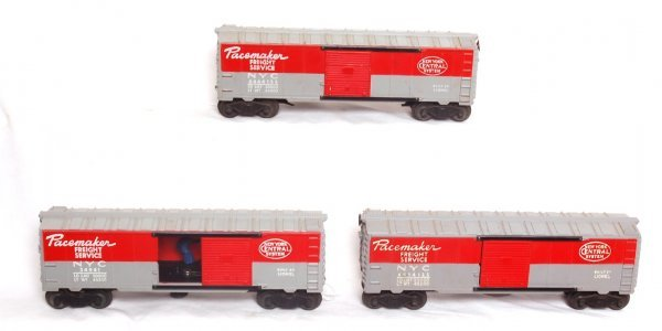 2: Two Lionel 6464-125 and one 3494-1 NYC