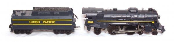 3: Factory error Lionel 8102 Union Pacific