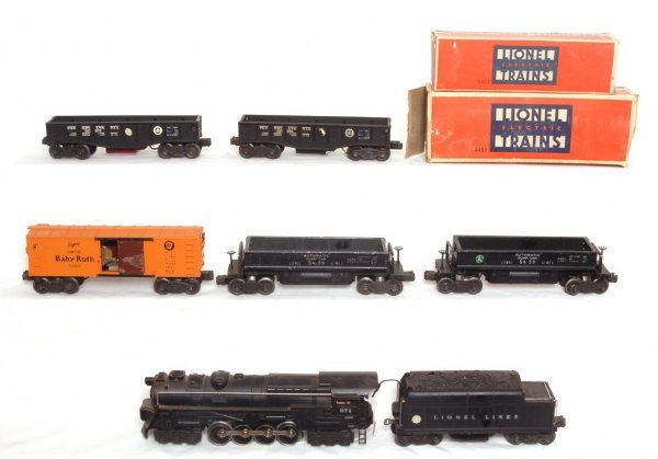 6: Lionel electronic set with 671R steam loco