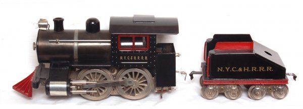 7: Lionel prewar standard gauge No. 5 loco, tender
