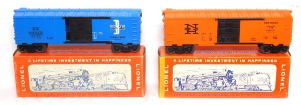 8: Nice Lionel 6464-475 and 6464-725 in OB