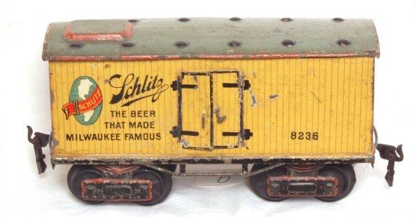 9: Marklin 8236 Schlitz beer car, gauge 1