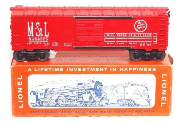 10: Nice Lionel 6464-525 MStL boxcar in OB