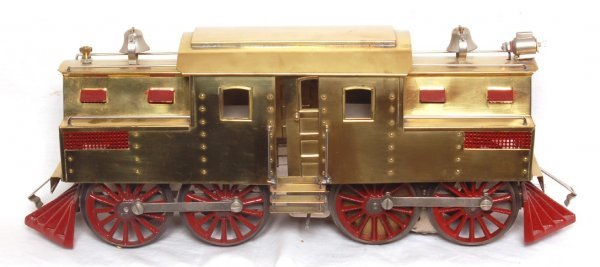 13: J. Cohen reproduction of a brass Lionel 54 loco