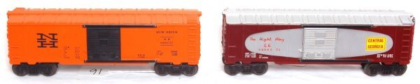 16: Lionel 6464-375 Central of Georgia, 6464-725 NH