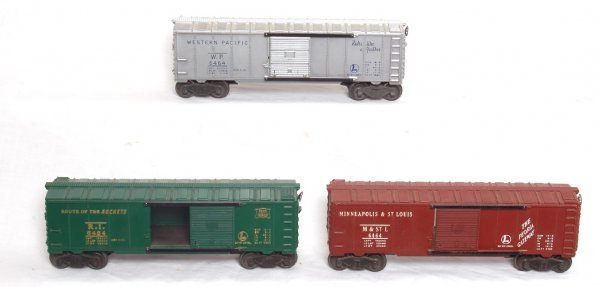 18: Lionel 6464-50, 6464-1 and 6464-75