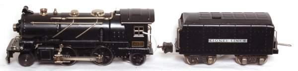 20: Lionel prewar 262E steam and tender