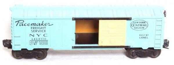 24: Lionel Girls Train boxcar 6464-510 NYC
