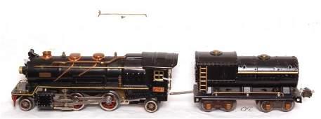 30: Lionel prewar 260E steam loco and tender