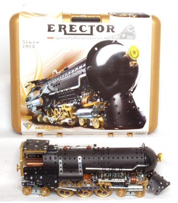 131: Erector special edition train set #0507 in OB
