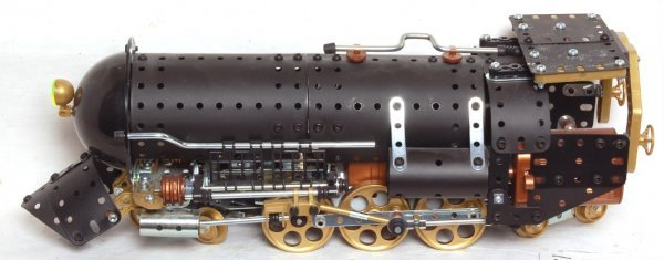 131: Erector special edition train set #0507 in OB - 2