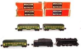 223: Lionel prewar set 224E, 2224W, 2640, 2640, 2641