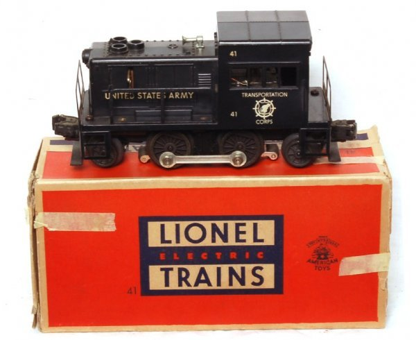 1021: Lionel 41 US Army switcher in OB
