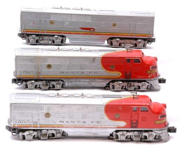 1008: Lionel 2353 Santa Fe ABA Diesels