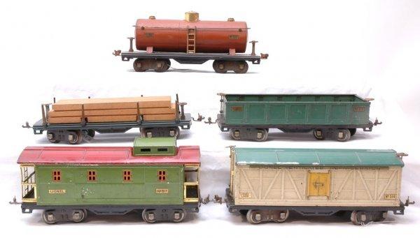 1013: Lionel 500 Series 511 512 514 515 517 Cars