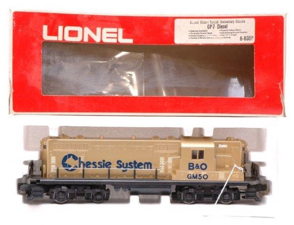1014: Lionel 8359 GM Chessie GP-7 Boxed