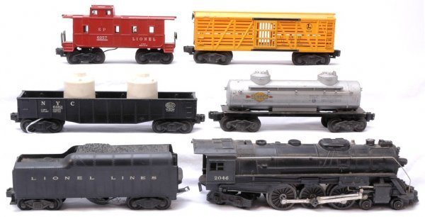 1017: Lionel 2046 with 2046W 6465 6462 6656 6357