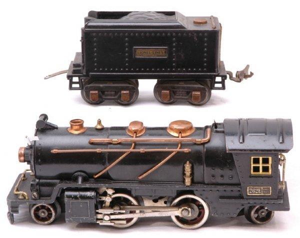 1024: Lionel Prewar 262E Steam with 262T Tender