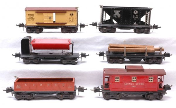 1254: Lionel 3651 3659 2655 2652 2653 and 2657