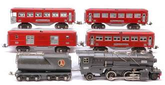 1316 Lionel Gun Metal 255 263WX red 615 two 613 614