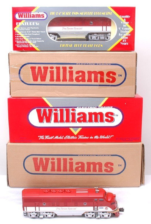 1377: Williams W-2245 W-2245C Texas Special MINT Boxed