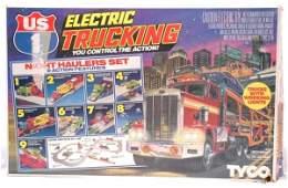 1544 Tyco HO Trucking Night Haulers Set Boxed