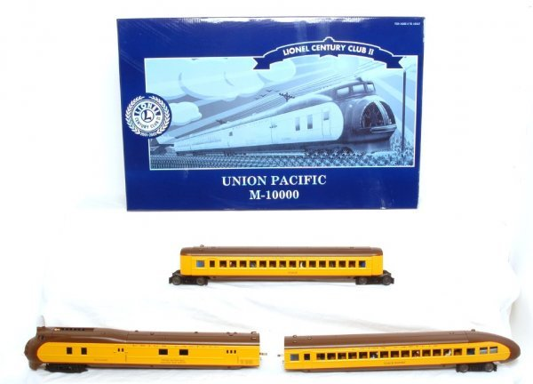 1: Lionel 51007 Union Pacific M10000 in OB