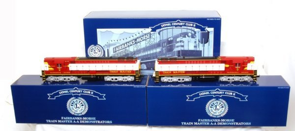 4: Lionel 18340 CCII F-M Trainmaster Demo. in OB