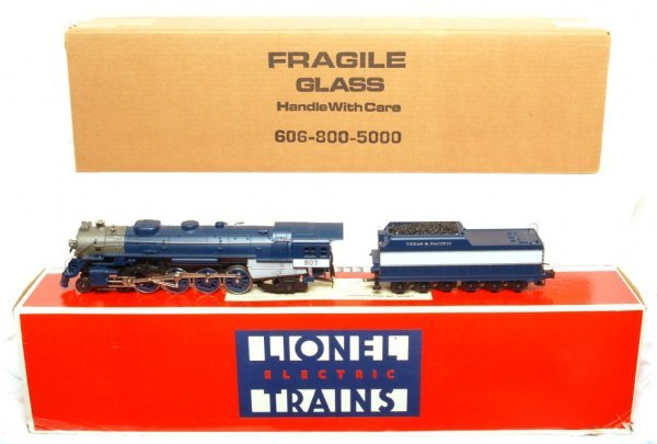 5: Lionel 18025 Texas and Pacific L-3 4-8-2  in OB