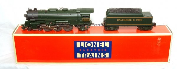 10: Lionel 18636 B and O 4-6-2 locomotive in OB