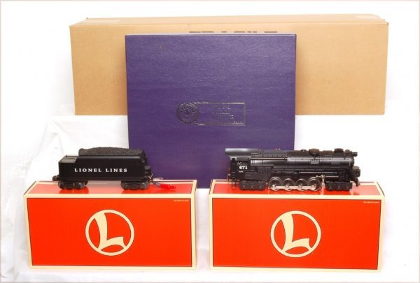 23: Lionel 18057 Pennsylvania 671 S-2 Turbine in OB