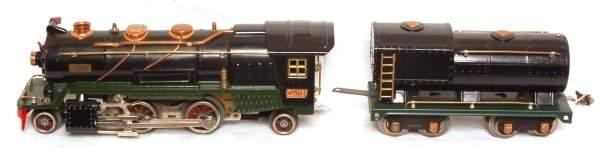 419: Lionel prewar 260E steam loco and tender