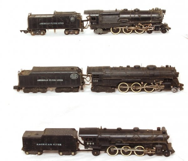 3003: American Flyer 295, 312, 322 Steam Engines