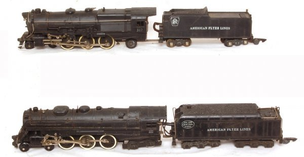 3018: American Flyer No. 312 and 322 locos