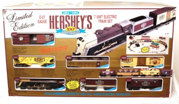 3023: K-Line K-1401 Hershey 100 Anniversary train set