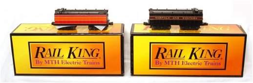 295 MTH Rail King 301117 301126 auxiliary tenders