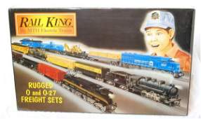 325 MTH Rail King RK029 C and N SD60 freight car set