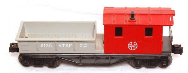 801: Rare Lionel 6130 Santa Fe caboose variation