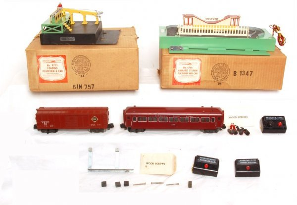 811: American Flyer K766 and K775 in boxes