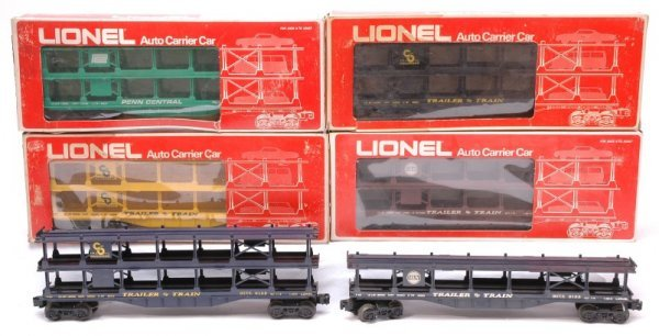 2019: Lionel two 9123 9125 9126 9129 9139 Boxed