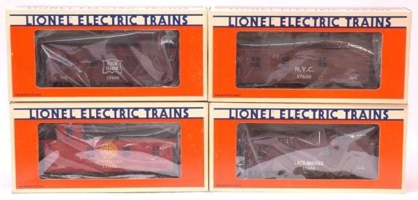 2021: Lionel 17600 17601 17603 17604 MINT Boxed