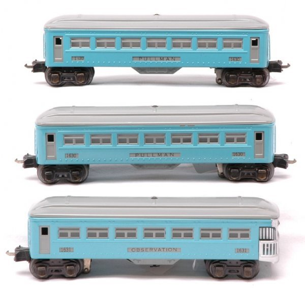 2022: Lionel  two 1630 Pullmans 1631 Observation