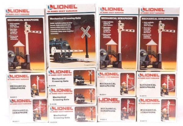 2023: Lionel Four 2309 Gates Nine 2311 MINT Boxed