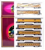 2161: MTH UP 20-6510 MT-6510 Passenger Cars LN OB