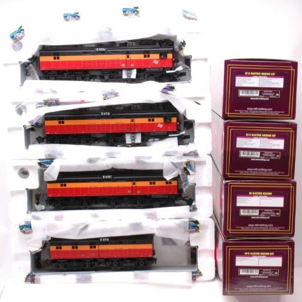 Model Railroads & Trains Collection Here Lionel Prewar 250 Engine Orange W/ Observation Car And 2 603 Passenger Cars Numerous In Variety