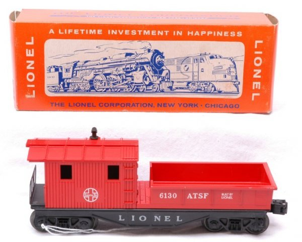 2503: Lionel 6130 ATSF Work Caboose MINT Boxed
