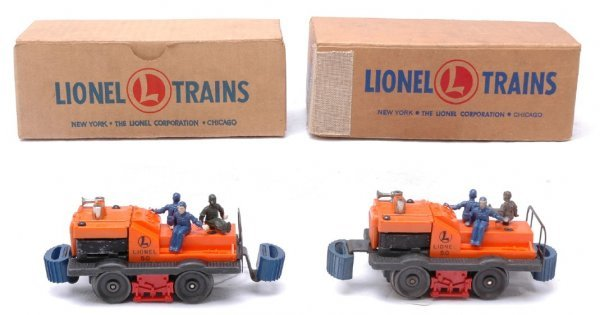 2511: Lionel two 50 Gang Cars Like New Boxed