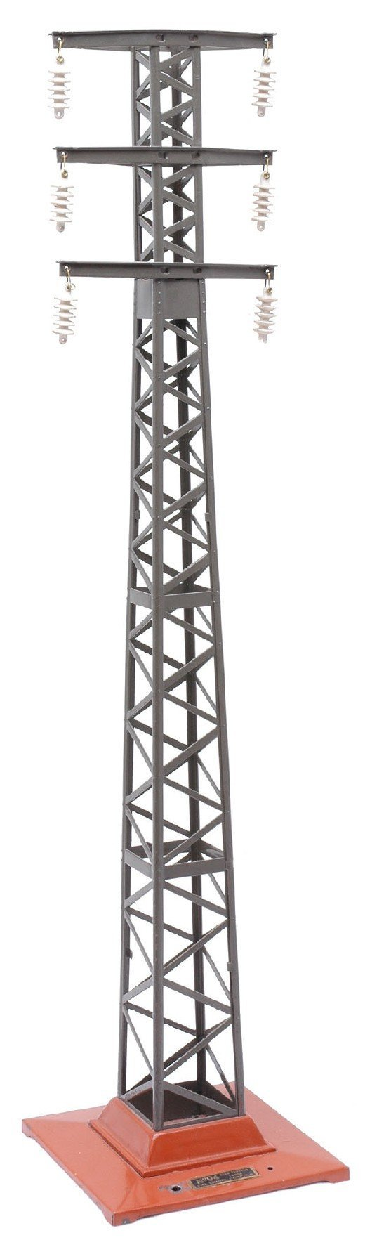 2514: Lionel 94 High Tension Tower Terra Cotta Base