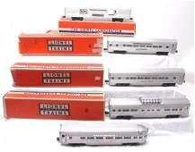 2653: Lionel Aluminum Pass 2530 2534 2533 2532 2531 OB