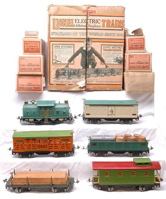 2818: Lionel 354E Freight Set Boxed in Set Box